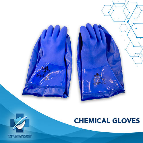 Elbow-Length Chemical Gloves | Industrial Gloves | Acid and Chemical Resistant
