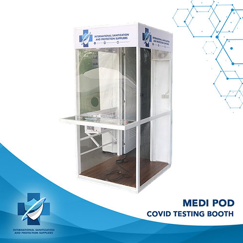 Medi Pod   COVID Testing Booth   Safety Cell   Protective Booth