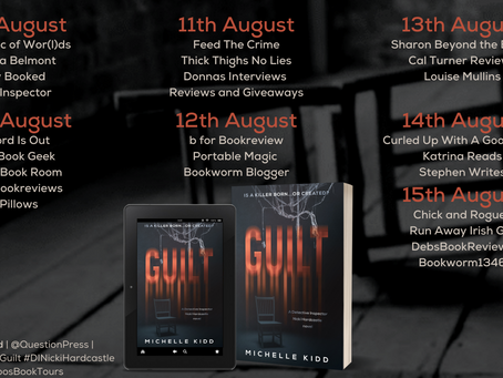 MY REVIEW OF GUILT BY MICHELLE KIDD