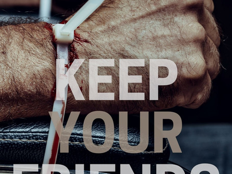 Keep Your Friends Close Cover Reveal