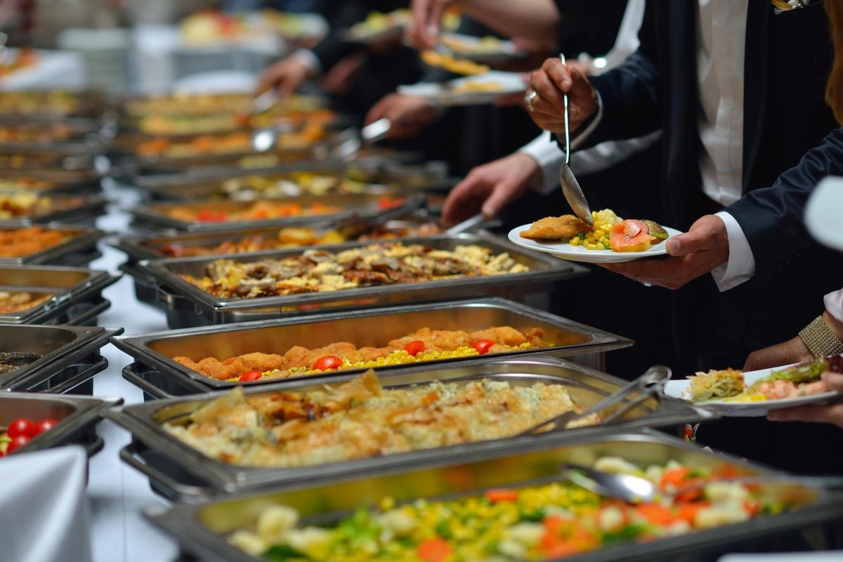 Des buffets adaptés