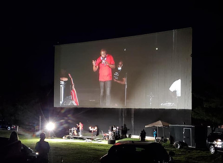 FaithFire Freedom Tailgate at Eden Drive-In