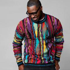 미친듯 화려한 스웨터 '쿠지(COOGI)' 힙합 열풍속 글로벌 인기 브랜드로!