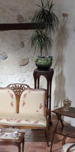 Salotto Majorelle, tavolino Gauthier, foto Alice Godone
