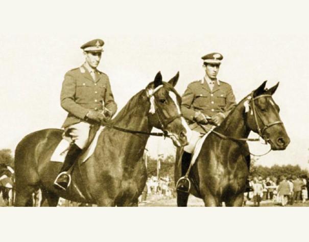 Equitazione: Raimondo e Piero D'Inzeo.