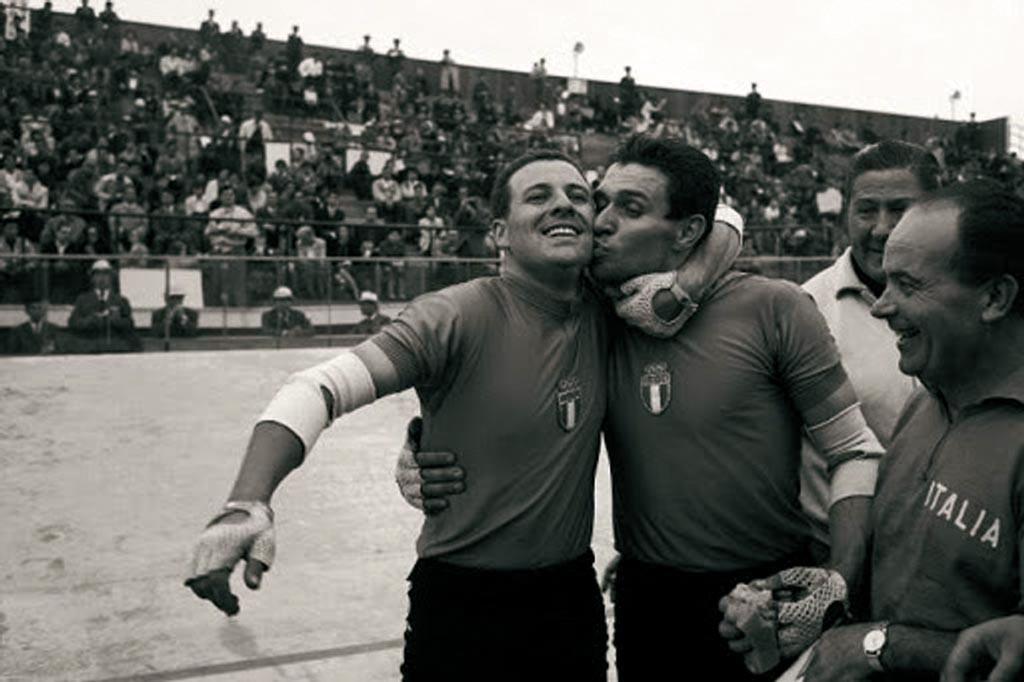 Ciclismo: Giuseppe Beghetto oro nel tandem con Sergio Bianchetto.