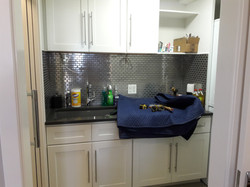 Laundry Rm. sink before LED