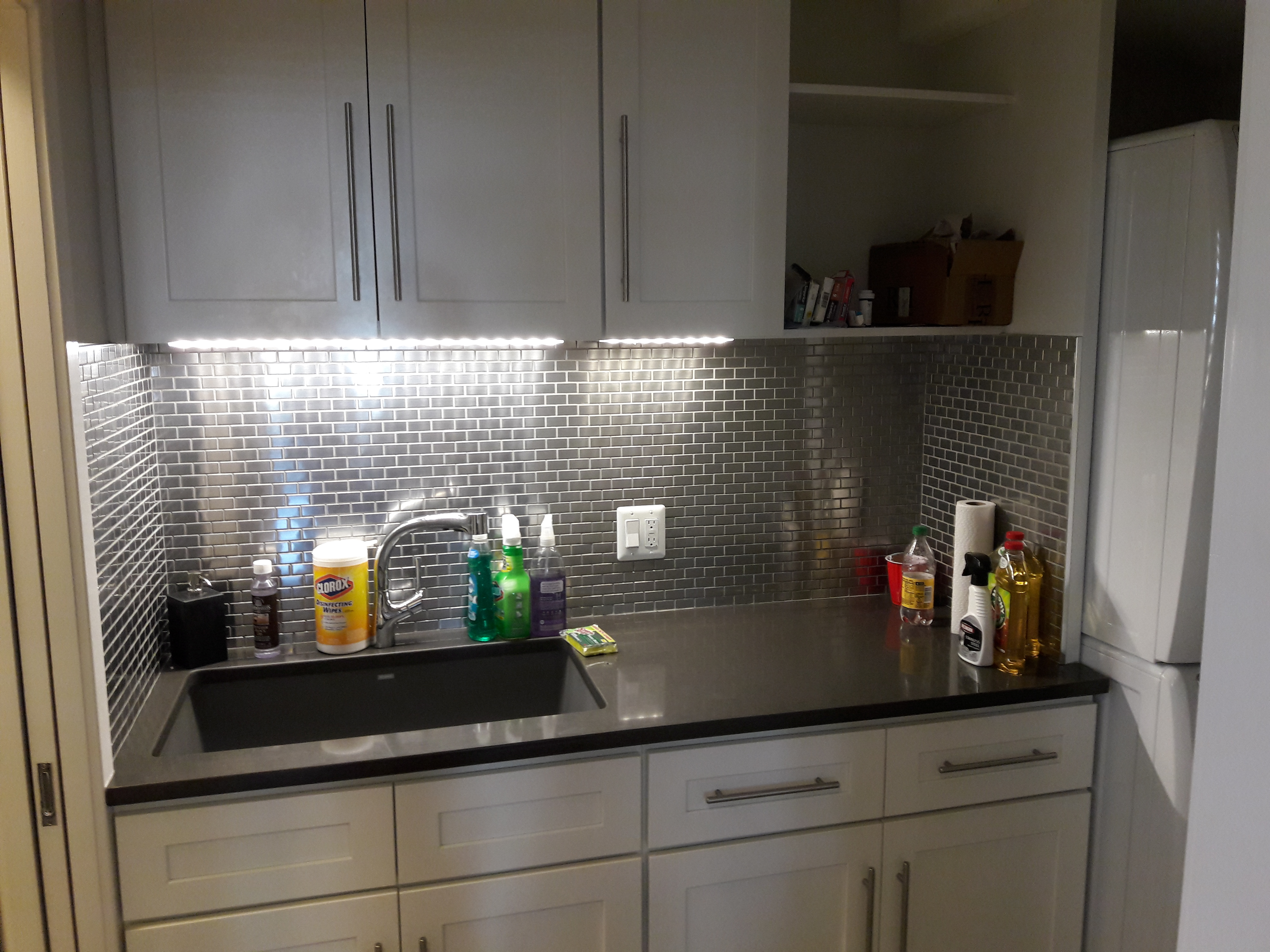 Laundry Rm. sink after LED