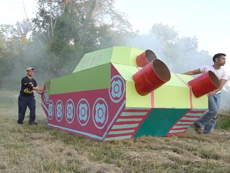 Giant Cardboard Tank