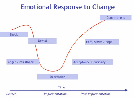 Where are you on the change curve?