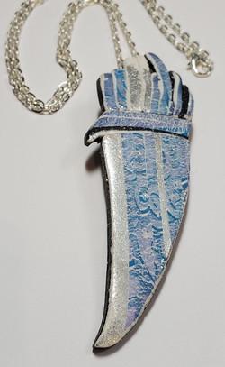 Sparkle & Flame necklace