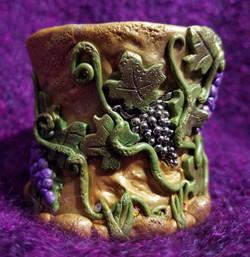 Wine theme votive