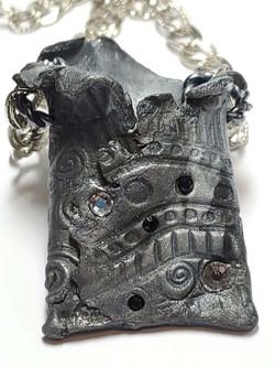 Sparkle Pouch necklace