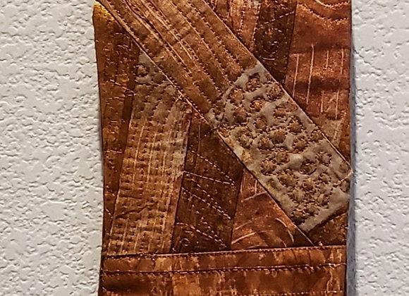 Copper Spiral wall art