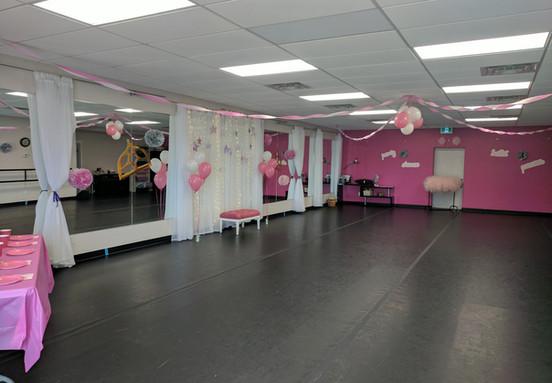 Princess Ballet Studio View