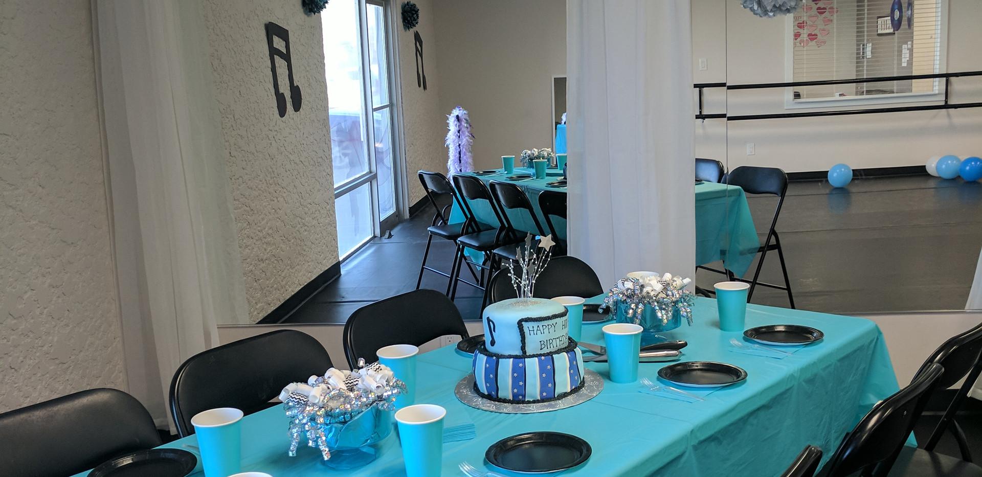 Hip Hop Hooray! Cake Table