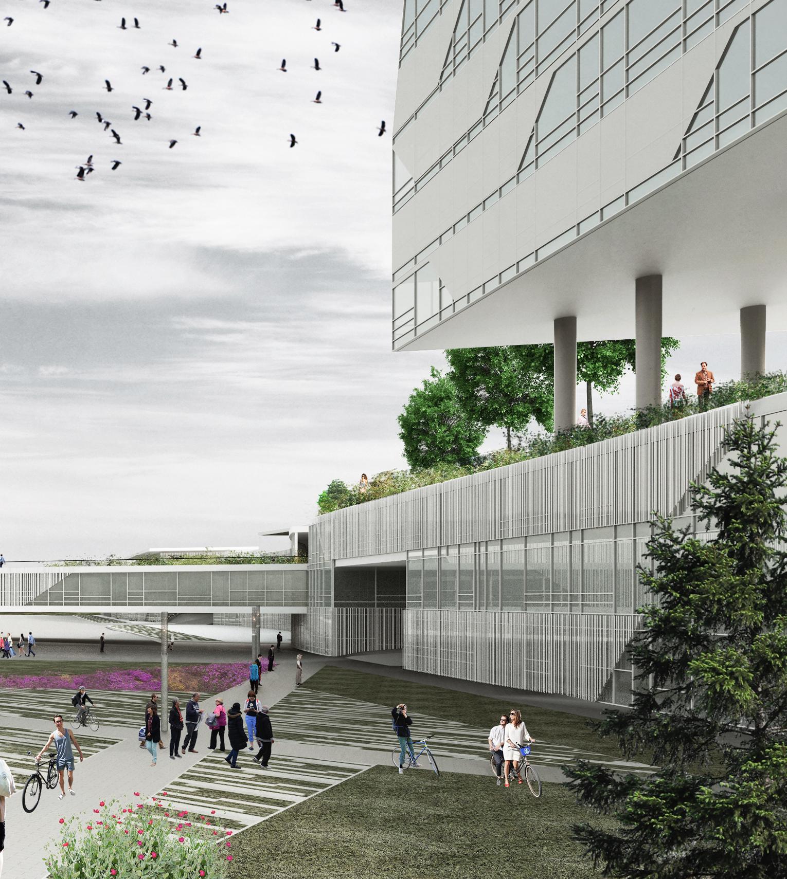 Corporate Campus Building