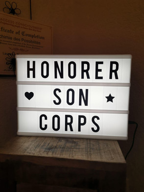 Honorer son corps