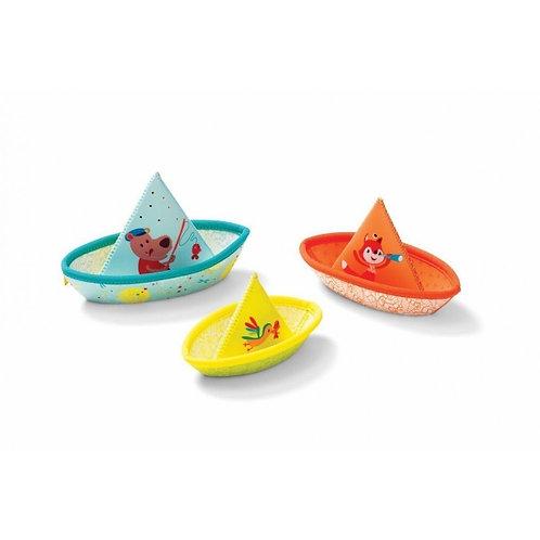 Jouet de bain Petits bateaux flottants - Lilliputiens