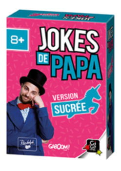 🇫🇷 Jokes de papa -Version sucrée - Gigamic