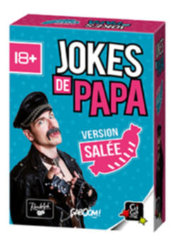 🇫🇷 Jokes de papa - Version salée - Gigamic