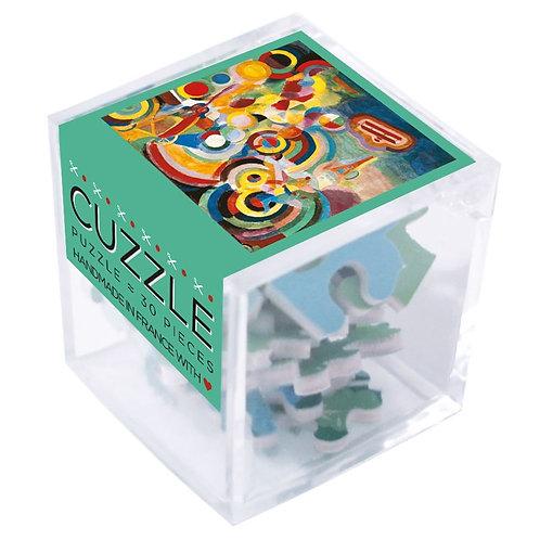 🇫🇷 Puzzle en bois 30p  Hommage  Delaunay - Michèle Wilson