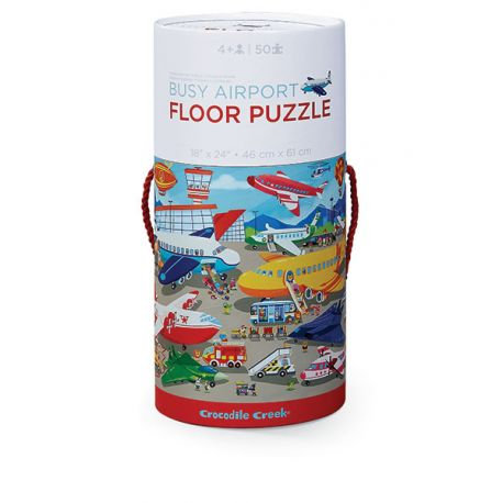 Puzzle l'aéroport - Crocodile Creek