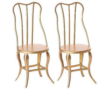 2 chaises pour souris gold