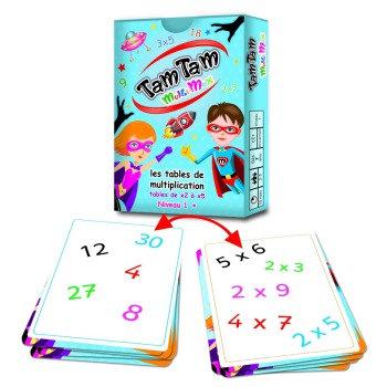 🇫🇷 Tam Tam Multiplication niveau 1- AB Ludis