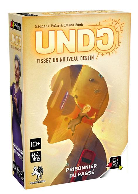 UNDO - Prisonnier du passé - Gigamic