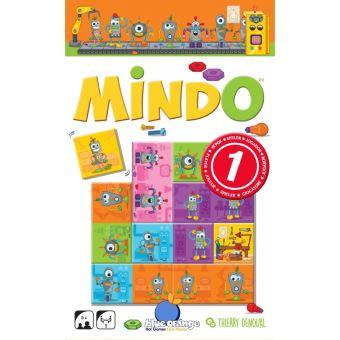 Mindo Robots - Blue Orange