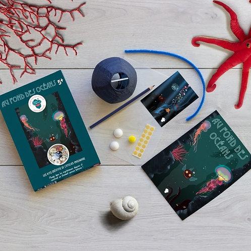 🇫🇷 Kit créatif : Au fond des océans - Atelier imaginaire