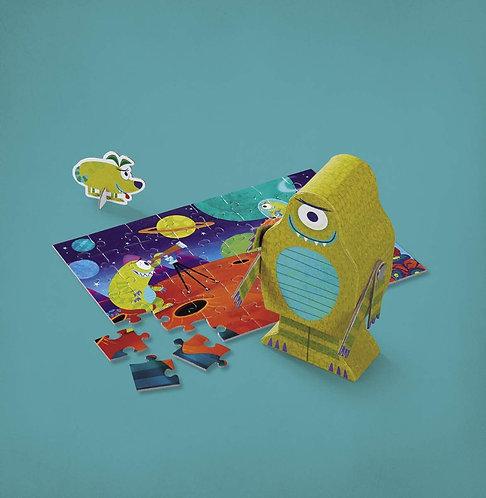 Puzzle Alien 48 pièces - Crocodile Creek