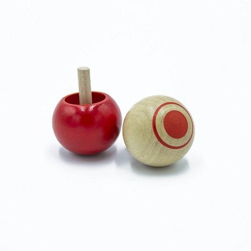 🇫🇷 Toupie pirouette rouge - Foulon