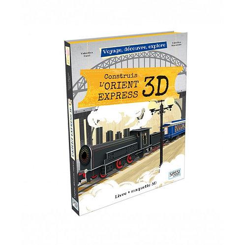 Construis l'Orient Express 3D- Sassi