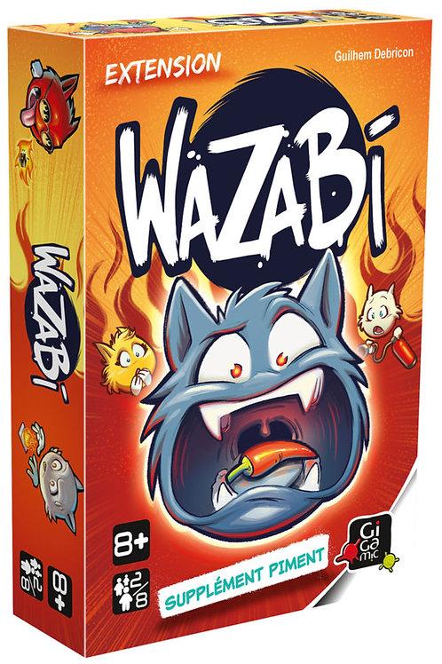 Extension Wazabi supplément piment - Gigamic
