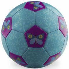 Ballon soccer mini papillons