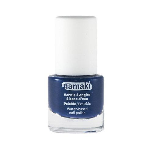 🇫🇷 Vernis à base d'eau pelable Bleu nuit - Namaki