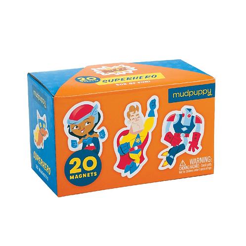 Boîte De Magnets – Super Héros - Mudpuppy