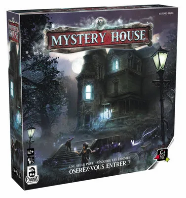Escape game Mystery House - Gigamic