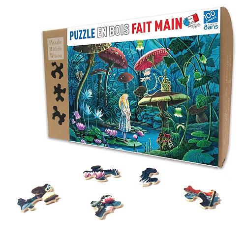 🇫🇷 Puzzle bois 100p Alice - Michèle Wilson