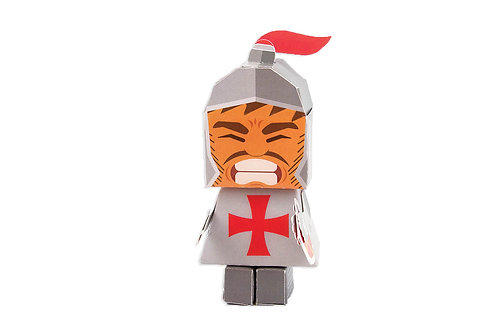 🇫🇷 Papertoy Chevalier - Agent Paper