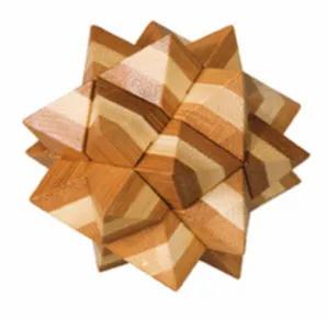 Casse-tête bambou - Etoile