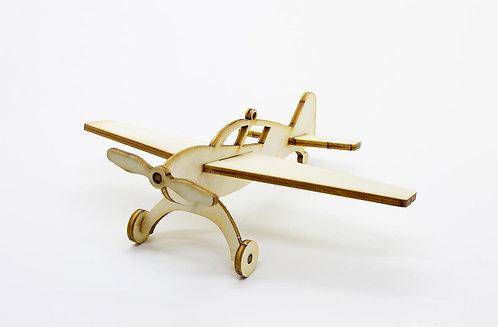 🇫🇷 Les p'tits bidules en bois Avion - Agent Paper