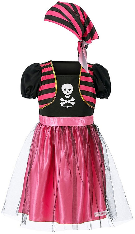 Déguisement pirate  fille- Rose et romeo
