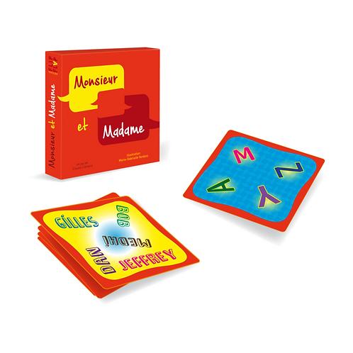🇪🇺Monsieur et Madame - Flip flap éditions