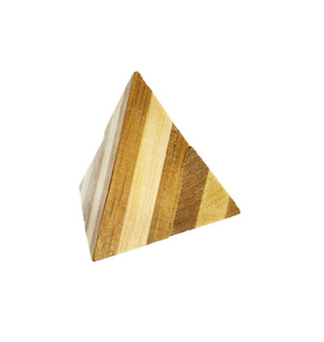 Casse-tête bambou - Pyramide