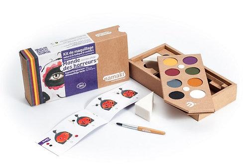 🇪🇺 Kit maquillage 8 couleurs Monde des horreurs - Namaki