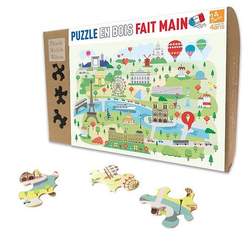🇫🇷 Puzzle bois 24p Paris - Michèle Wilson