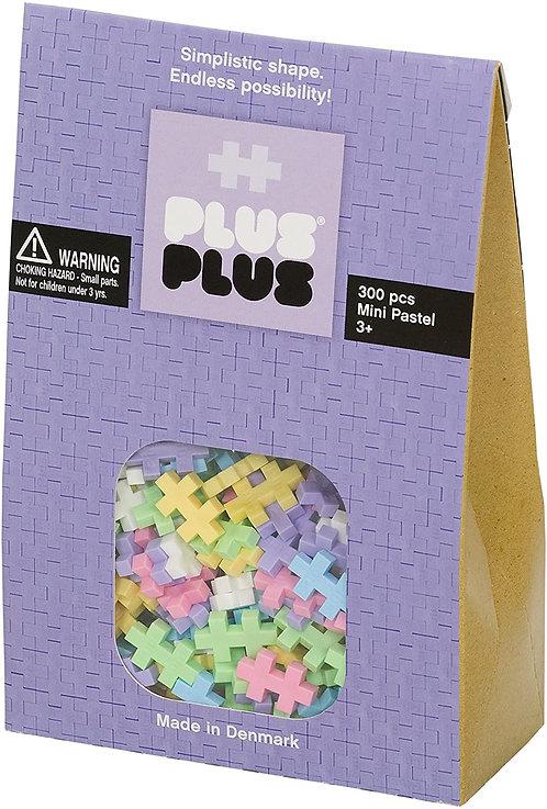 Pack pastel 300 pièces - Plus Plus